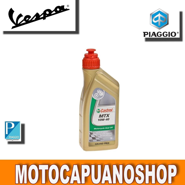1l Aceite lubricante Castrol para engranajes de motor 2T MTX ...