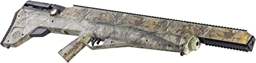 Benjamin BPBD3SRT Bulldog .357 PCP Realtree Xtra Camo Hunting Rifle with Reversible Sidelever Bolt Action, Realtree Xtra Camouflage