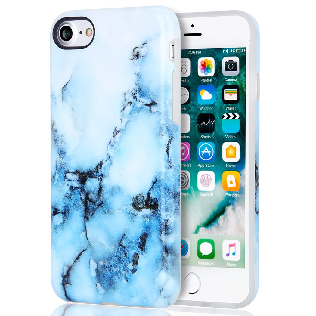 iphone 8 case shockproof marble