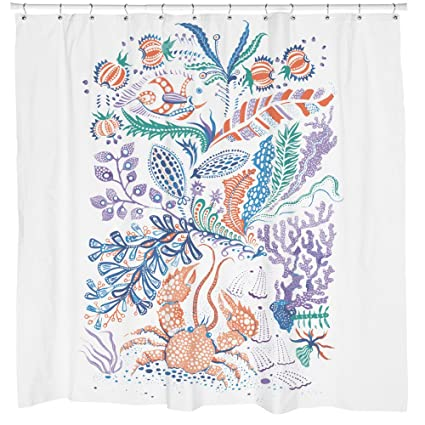 Image Unavailable Not Available For Color Sharp Shirter Crabs Shower Curtain