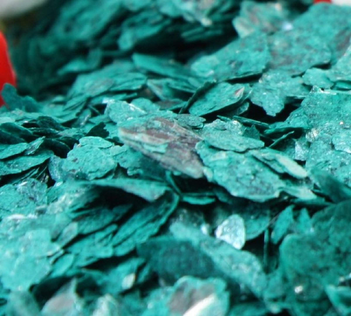 Meyer Imports Natural Mica Flakes - Green - Turquoise - 4 oz - #311-4322
