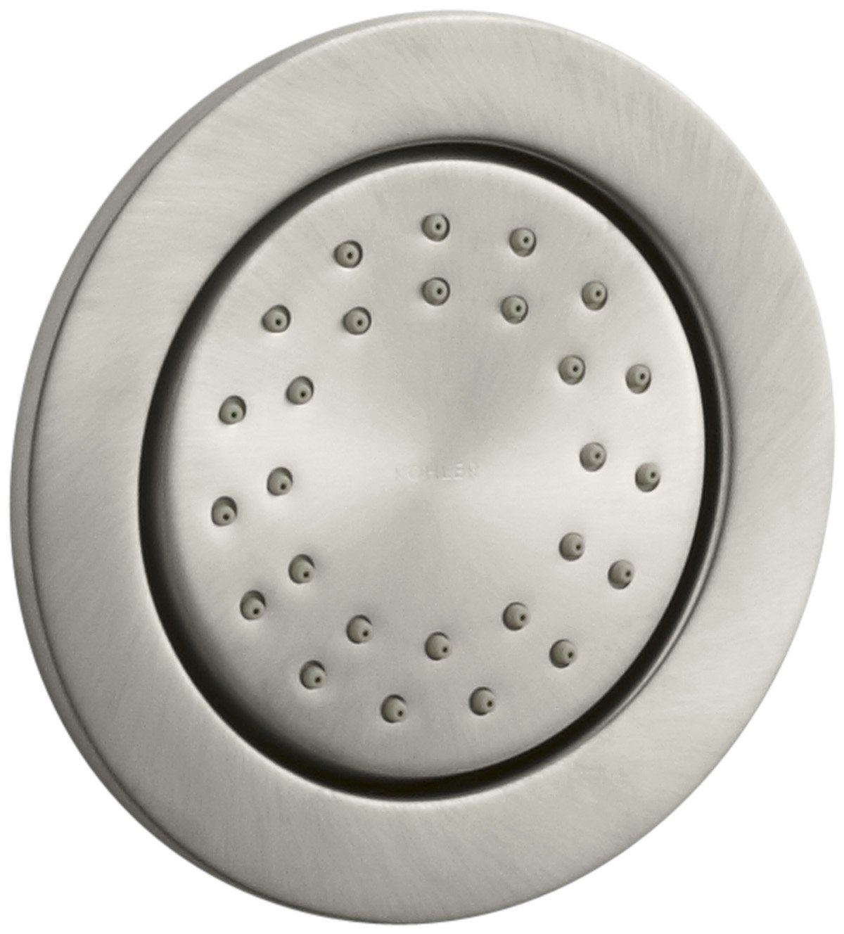 KOHLER K-8013-BN WaterTile Round 27-Nozzle Body Spray, Vibrant Brushed Nickel