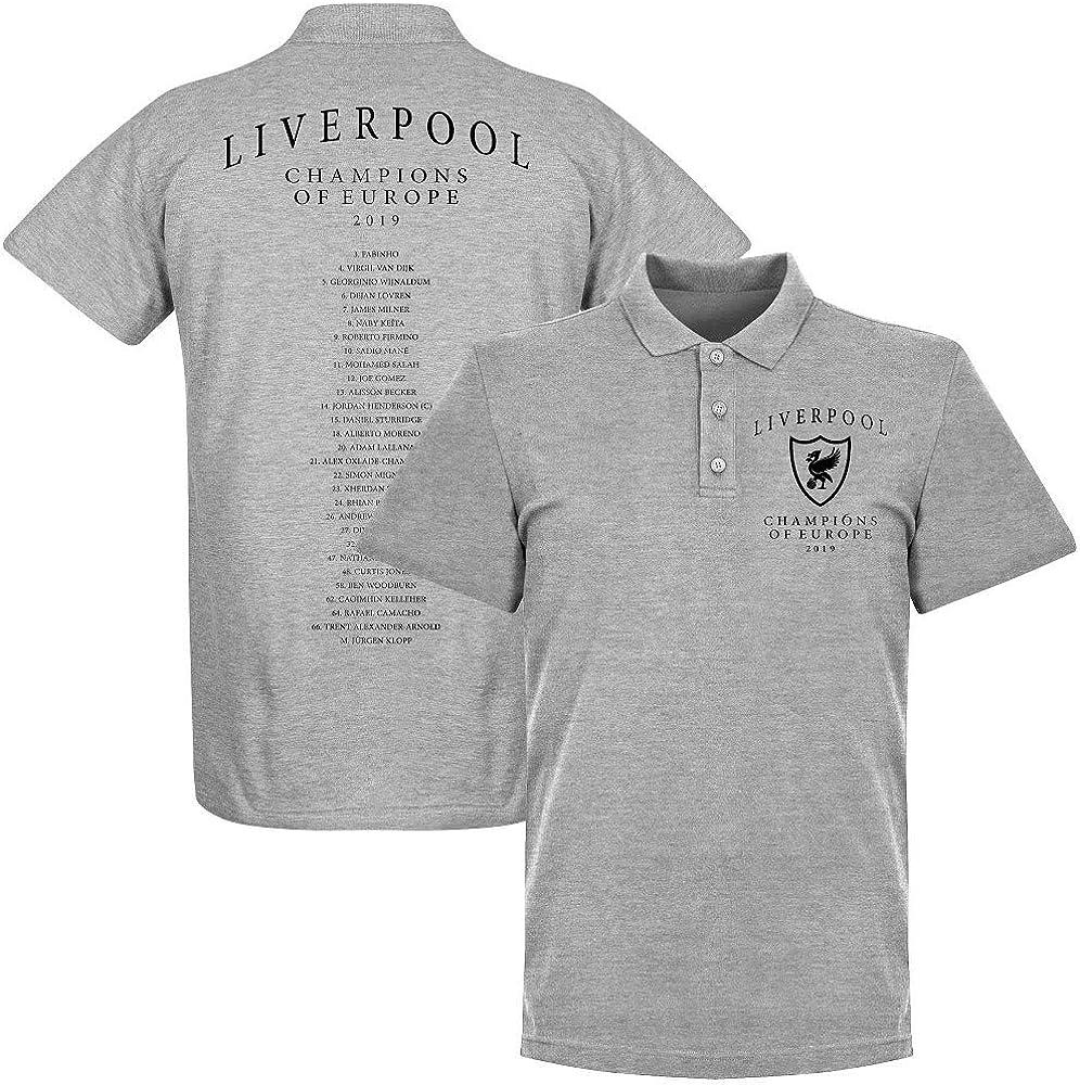 Liverpool Crest Europameister Mannschaft Polo Shirt - Camiseta de ...