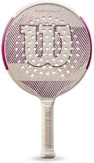 Wilson Ultra Lite White/Pink Platform Tennis Paddle