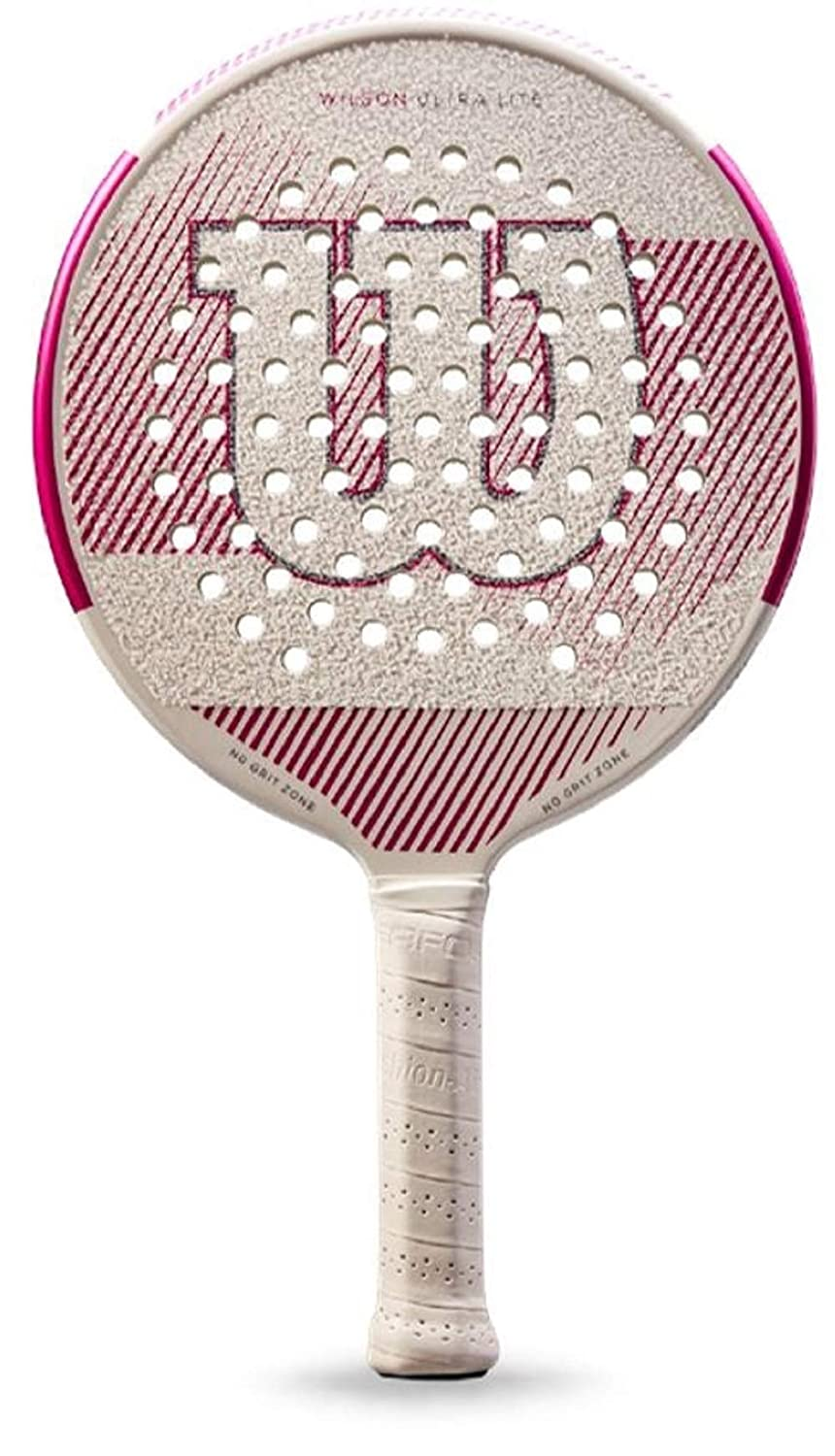 Amazon.com : Wilson Ultra Lite White/Pink Platform Tennis ...