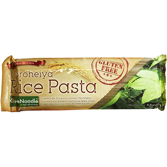 Judio tallarines verdes de pasta de arroz integral (harina ...