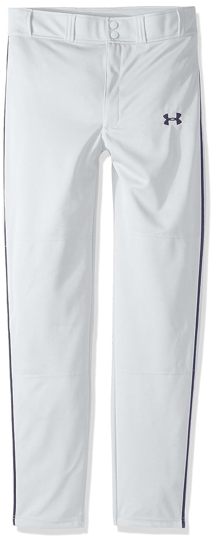 Under Armour クリーンアップパイプド野球パンツ ボーイズ B01M1OLZN5 Youth X-Large|ホワイト/ミッドナイトネイビー ホワイト/ミッドナイトネイビー Youth X-Large