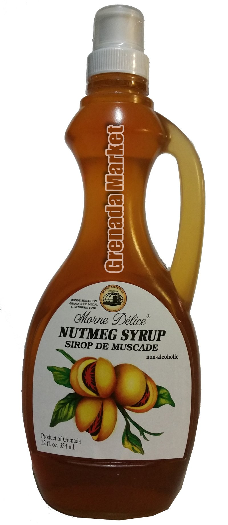 Nutmeg Syrup (Sirop de Muscade) Product of Grenada, Caribbean. by MORNE DELICE (Image #1)