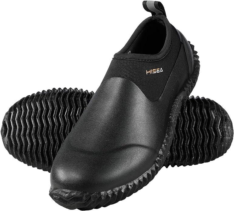 Hisea Unisex Waterproof Garden Shoes