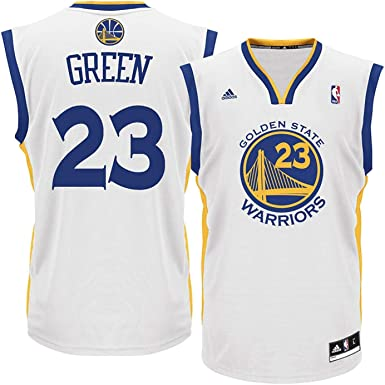 reputable site 8ad9f bd80e Draymond Green Golden State Warriors NBA Adidas Youth White Home Replica  Jersey (Youth Medium 10-12)