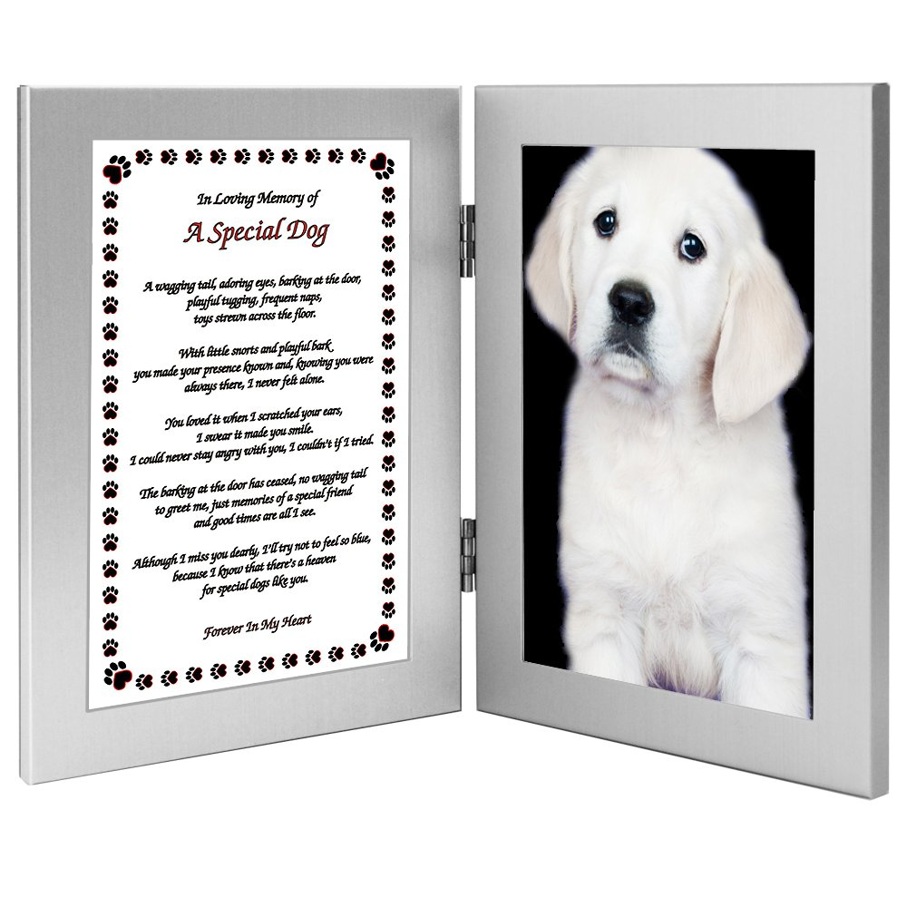 Amazon.com - Dog Sympathy Gift Paw Print Design and Sweet Poem - Add ...