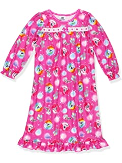 My Little Pony Girls Flannel Granny Gown Nightgown (Toddler Little Kid Big  Kid c2d68c811