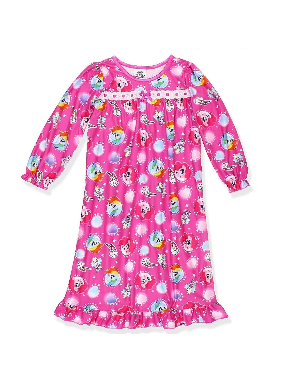 My Little Pony Girls Flannel Granny Gown Nightgown (Toddler/Little Kid/Big Kid) manufacturer