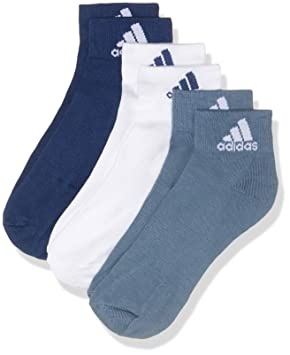 adidas per Ankle T 3pp Calcetines, Unisex Adulto: Amazon.es: Deportes y aire libre