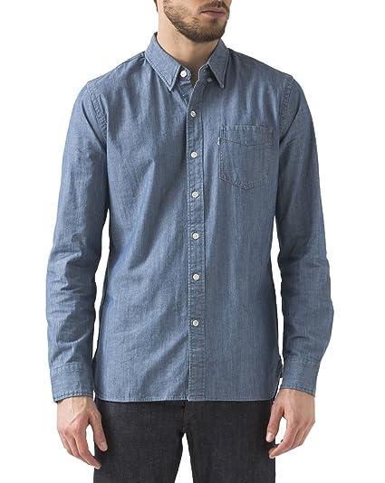 af2260f01f67 Levi s Mens Mens Sunset Pocket Shirt in Light Blue - XL  Levis ...