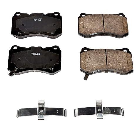 Z17 Evolution Ceramic Rear Brake Pads Power Stop 17-1691