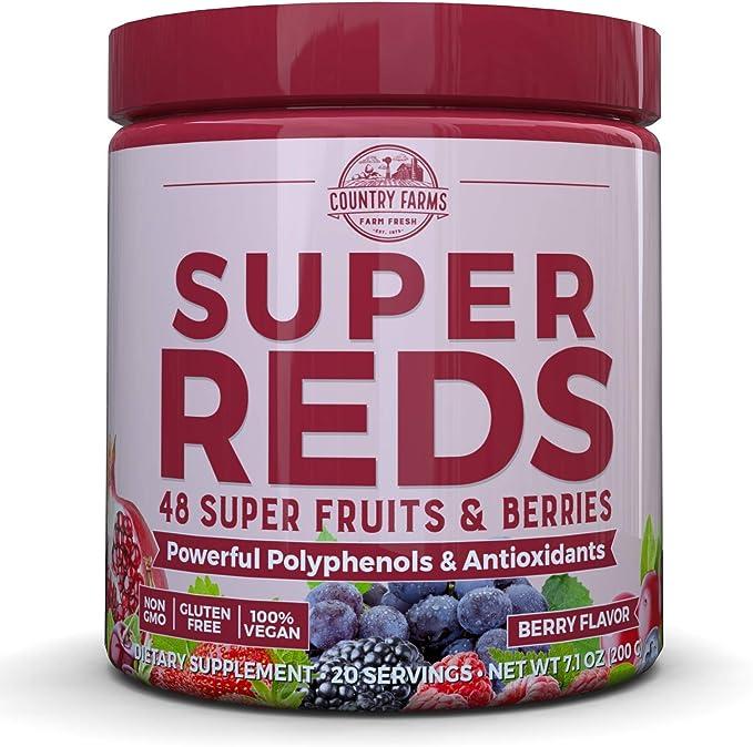 Amazon Com Country Farms Super Reds Energizing Polyphenol