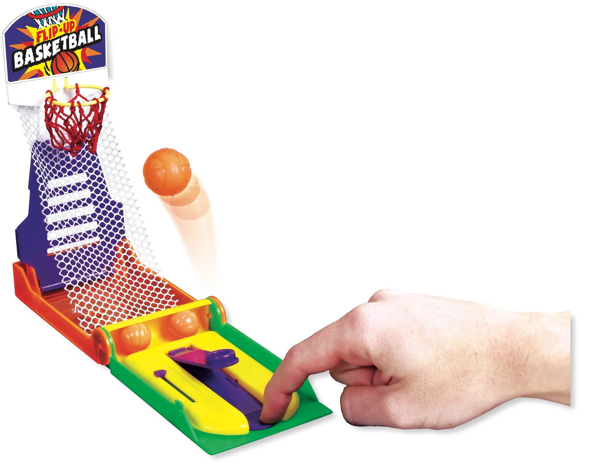 JA-RU Basketball Pocket Travel Game (144 Units) and one Bouncy Ball Item #3255-144p by JA-RU (Image #1)