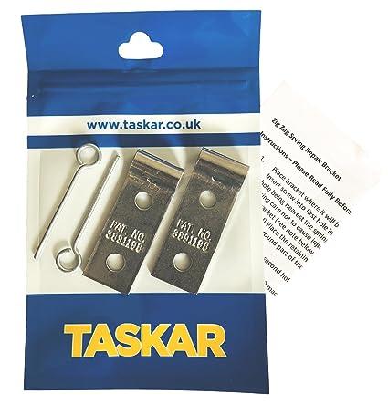 Amazon Com Taskar Sofa Zig Zag Spring Repair Brackets 2 Pack