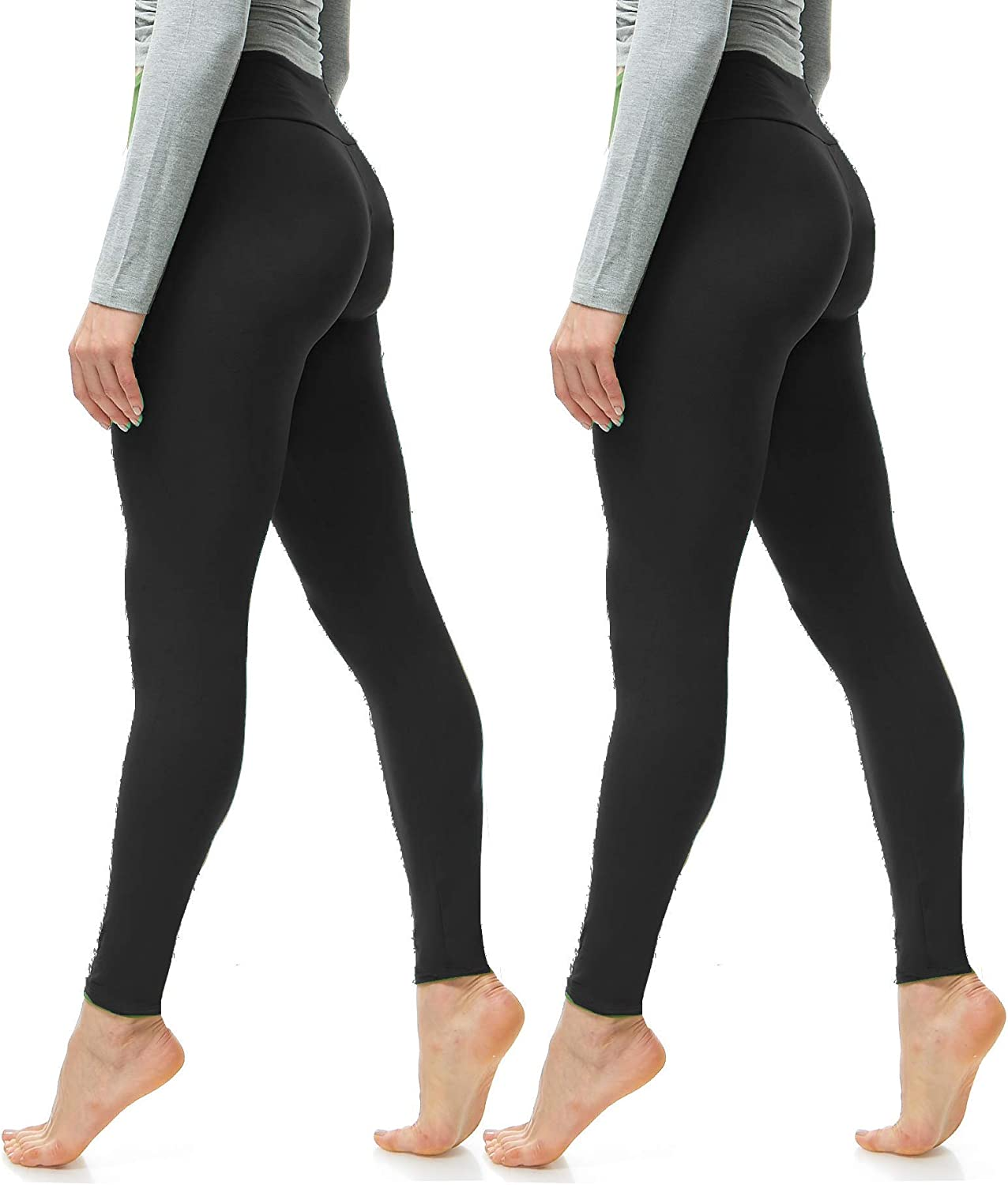 Luxurious Quality High Waisted Leggings for Women Workout /& Yoga Pants Plus