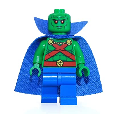 LEGO DC Martian Manhunter Minifigure [Loose]: Toys & Games