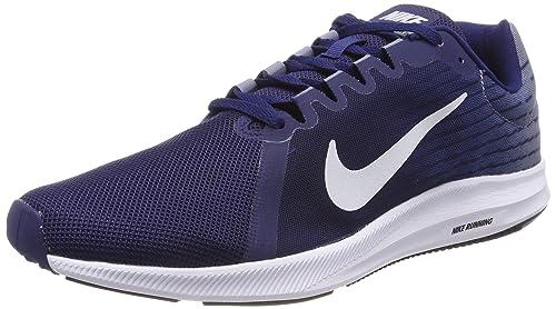 new concept a207a 3760b Nike Men s Downshifter 8 Blue Pltm-Ashn Slte Running Shoes-11 UK