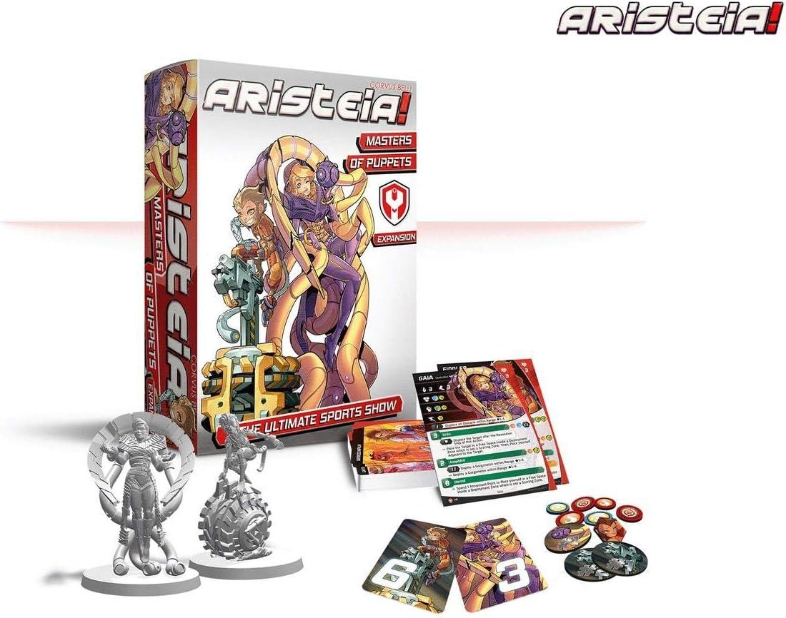 Corbus Aristeia Masters of Puppets - Expansión Juego de Mesa: Amazon.es: Juguetes y juegos