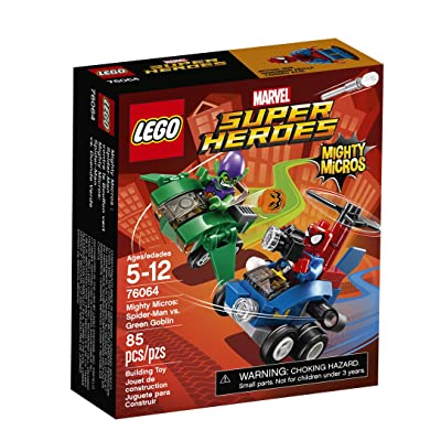 LEGO Super Heroes Mighty Micros: Spider-Man vs. Green Gobl 76064: Toys & Games [5Bkhe0907028]