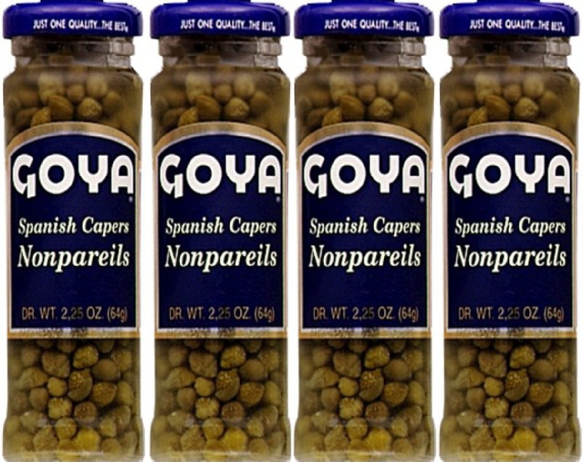 Goya Capers 2.25 Oz (Pack of 4)