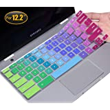 "CaseBuy Keyboard Cover Compatible 2019/2018 Samsung Chromebook Pro Plus 12.2"" XE520QAB-K01US XE521QAB XE525QBB…"
