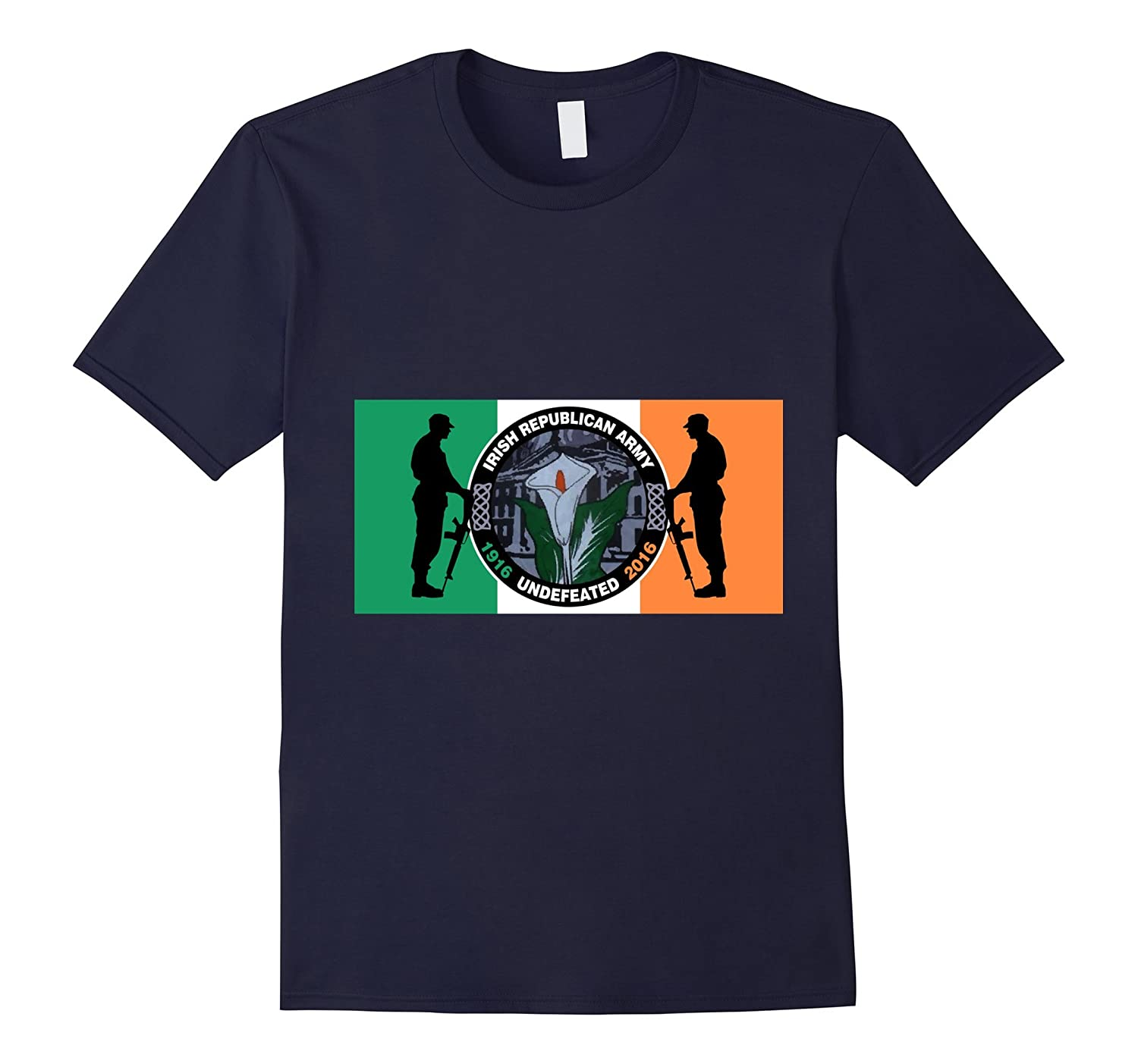 Irish Republican Army Undefeated Easter Rising Flag Shirt