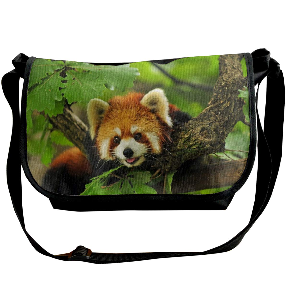 Red Panda Of Nepal Unisex Crossbody Single Shoulder Bag Messenger Bag