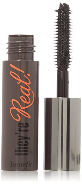 452f7172c9e Image Unavailable. Image not available for. Colour: Benefit They're Real  Mascara - Deluxe Travel Size, 0.1 oz