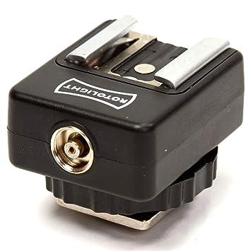 319680e15f Rotolight Universal Hot Shoe Adapter to PC Sync Camera  Amazon.co.uk ...
