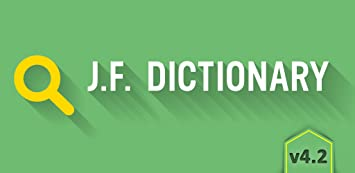 Amazon com: JF Dictionary: Appstore for Android