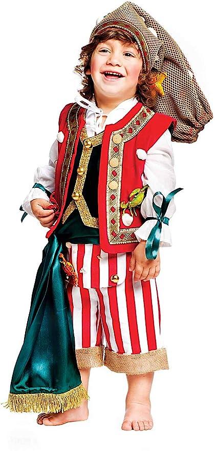2d9431285e65 Costume di Carnevale da Pescatore Neonato Vestito per Neonato Bambino 0-3  Anni Travestimento Veneziano