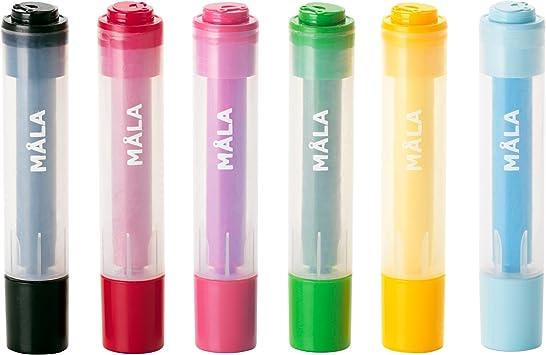 Ikea Mala - Stamps, different designs, set of 6 units: Amazon.es: Bricolaje y herramientas