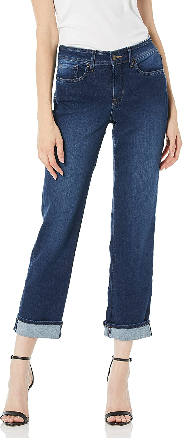 NYDJ Women's Marilyn Straight Cuff Jean Now free shipping Max 76% OFF with Ankle