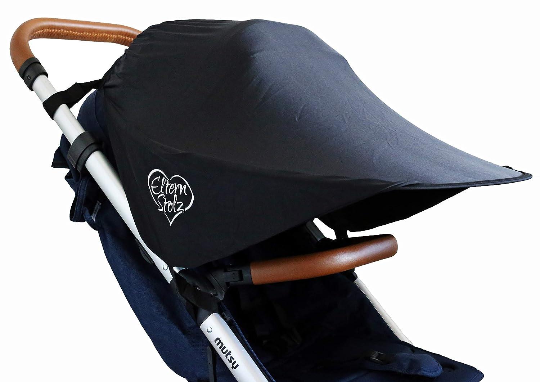 La sombrilla universal para cochecito con protección UV se ajusta a z.b. en babyzen yoyo mutsy nexo sombrilla parasol protector solar bebé: Amazon.es: Bebé