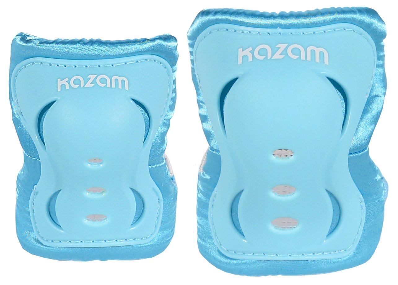 KaZAM Kid's Multi-Sport Knee & Elbow Pad Set, Light Blue