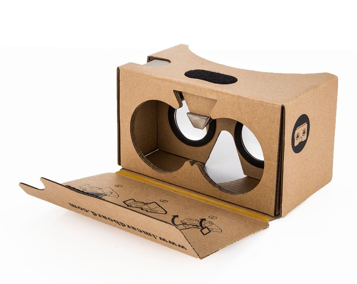 amazon com i am cardboard vr cardboard kit v2 cell phones