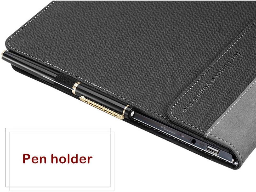 Amazon.com: Negocios funda de piel para Lenovo 910 Yoga 5 ...
