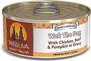 Weruva Classics Wok The Dog with Chicken, Beef & Pumpkin in Gravy Wet Dog Food