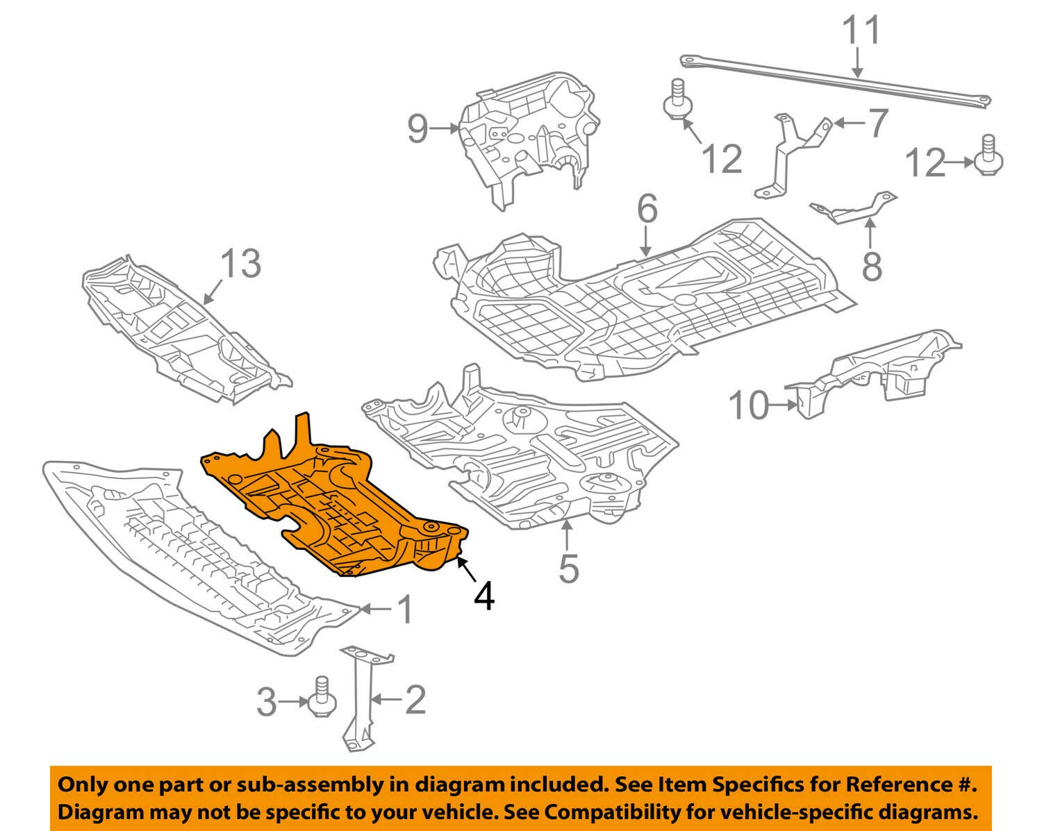 Mercedes Benz Genuine Center Cover 212-520-13-23 by Mercedes Benz (Image #1)