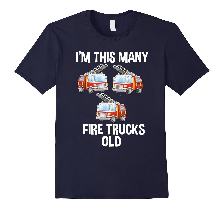 Kids Birthday Shirt Trucks Royal-Awarplus