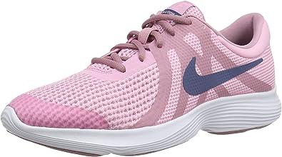 Nike Revolution 4 (GS), Zapatillas de Running para Niñas, Rosa (Pink/Diffused Blue-Elemental Pink-White 602), 36 EU: Amazon.es: Zapatos y complementos