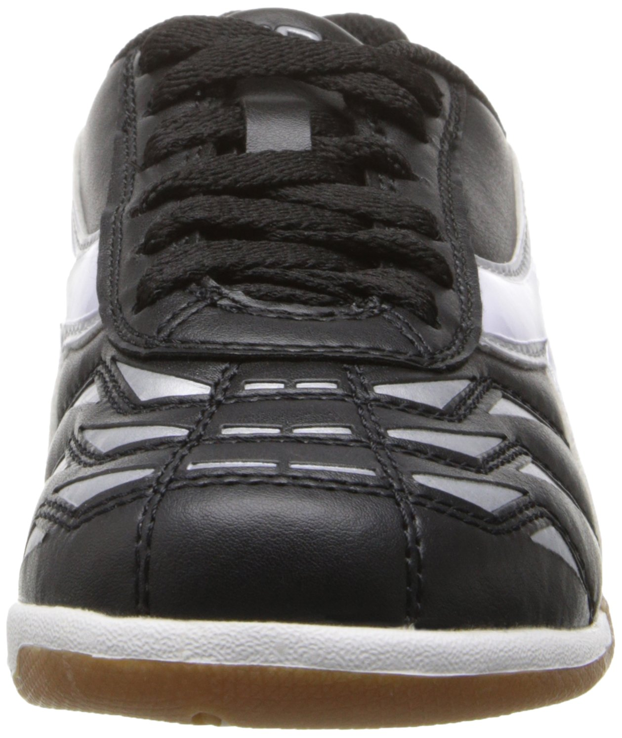 Diadora Capitano ID JR Indoor Soccer Shoe, Black/White, 3.5 M US Big Kid by Diadora (Image #4)