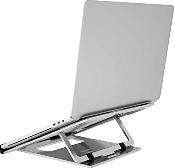 Pihen Foldable Lightweight Aluminum Ergonomic Portable Laptop Stand
