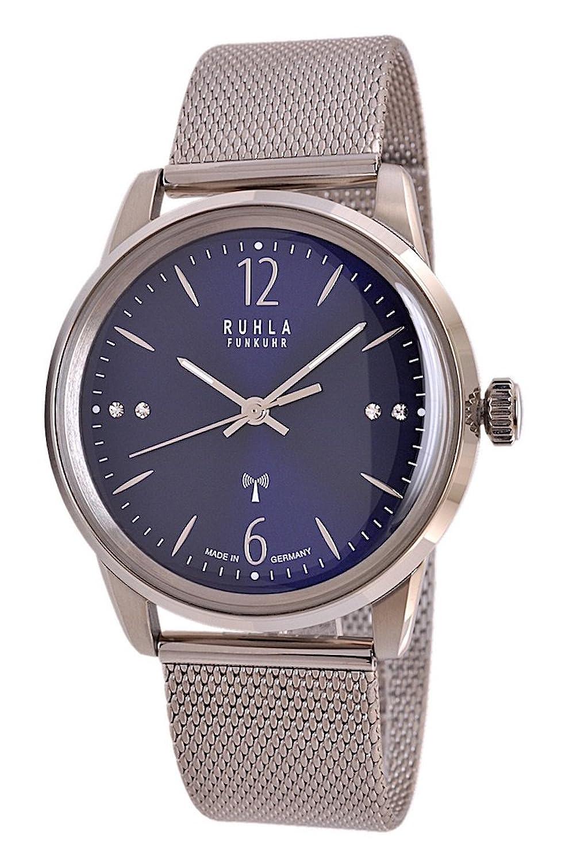 Garde (by Ruhla) Uhr Damen Funkuhr Modell FU 122-53AM mit Glasboden
