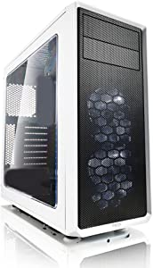 CPU Solutions Intel i7 Quad Core PC. 32GB RAM, 1TB HDD, 240GB SSD, Windows 10 Pro, GTX1060 w/3GB, 750W PS, White Case